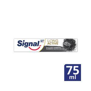 Signal Nature Elements Pasta De Dientes Carbón Activado 75 ml
