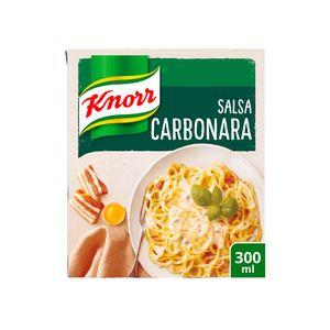 Knorr Salsa Para Cocinar Líquida Carbonara 300 ml