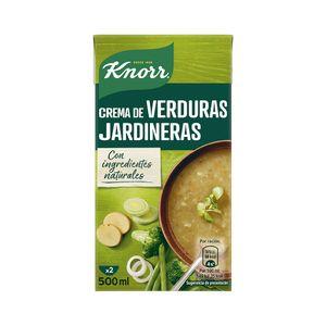 Knorr Las Rústicas Puré Verduras Jardineras 500 ml