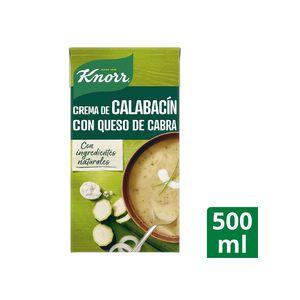 Knorr Las Clásicas Crema De Calabacín Con Queso De Cabra 500 ml