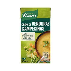 Knorr Las Rústicas Puré Verduras Campesinas 500 ml