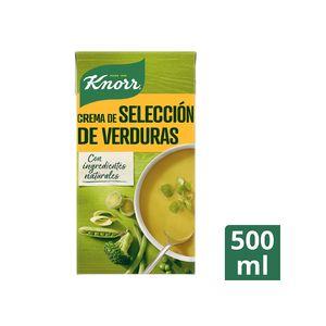 Knorr Las Clásicas Crema Selección De Verduras 500 ml