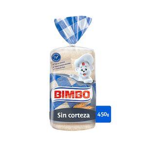 Bimbo Sin Corteza Pan Blanco 450 g, 16 rebanadas