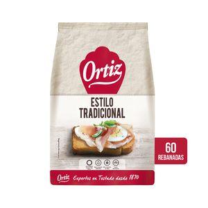 Ortiz Pan Tostado Tradicional, 60 rebanadas, 648 g