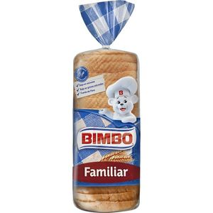 Bimbo Pan Blanco Con Corteza, Format familiar 700 g, 26 rebanadas