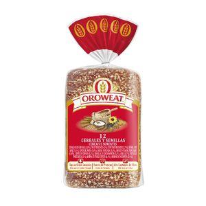 Oroweat 12 Cereales y Semillas, Pan Multicereales con Corteza 680 g, 16 Rebanadas