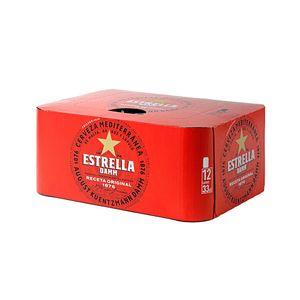 Estrella Damm Lata 33 cl Pack 12 uds