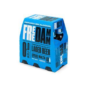 Free Damm Botella 25 cl Pack 6 uds