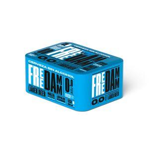 Free Damm Lata 33 cl Pack 12 uds